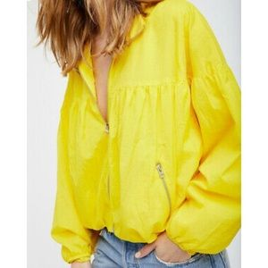 NEW Free People Movement Neon Balloon Jacket (XS)